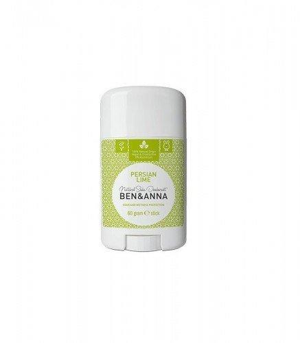 BEN & ANNA Naturalny Dezodorant na bazie Sody PERSIAN LIME (sztyft plastikowy) 0% Aluminium 60g