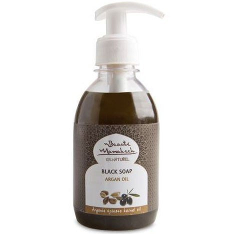 BEAUTE MARRAKECH Czarne mydło w płynie arganowe 250ml