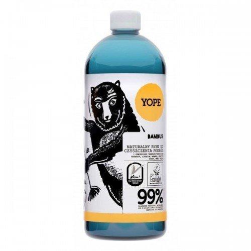 YOPE Naturalny płyn do czyszczenia podłóg BAMBUS 1 L