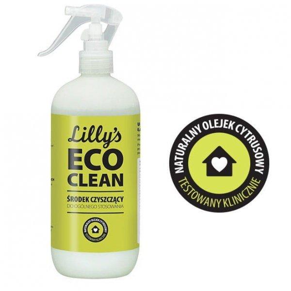 6x LILLY'S ECO CLEAN Środek Czyszczący do Ogólnego Stosowania z mieszanką olejków cytrusowych 500ml