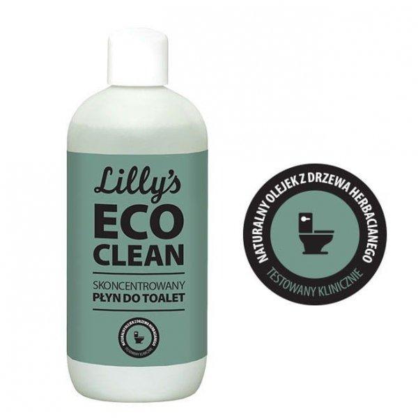 LILLY'S ECO CLEAN Skoncentrowany Płyn do Toalet z olejkiem z drzewa herbacianego 750 ml
