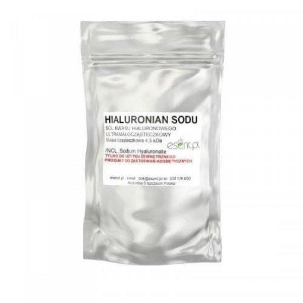 ESENT Hialuronian Sodu Ultramałocząsteczkowy 4,5 kDa (kwas hiularonowy) 3g