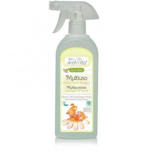BABY ANTHYLLIS Płyn do mycia powierzchni mających kontakt z dzieckiem z organicznym olejkiem herbacianym 500ml