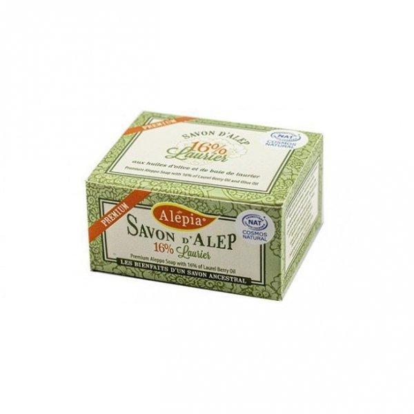 ALEPIA Naturalne mydło Alep Premium 16% 125g