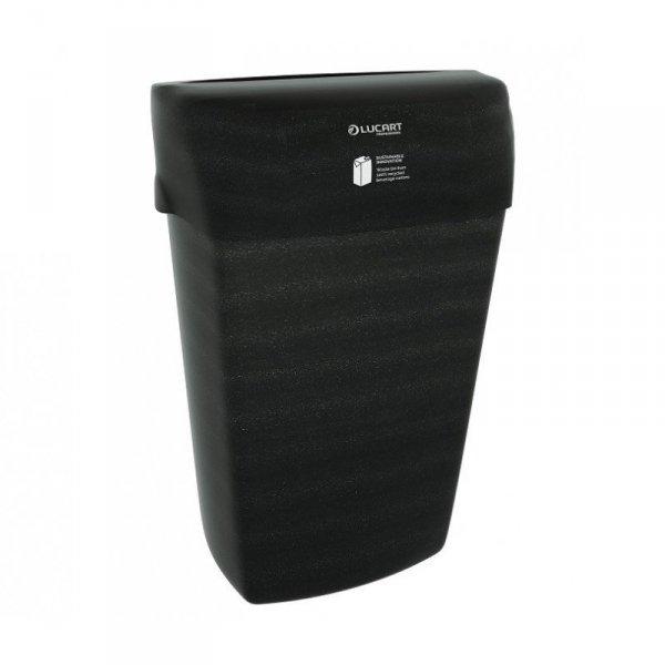 LUCART PROFFESIONAL Śmietnik z tworzywa AlPe z recyklingu opakowań typu Tetrapak 23L