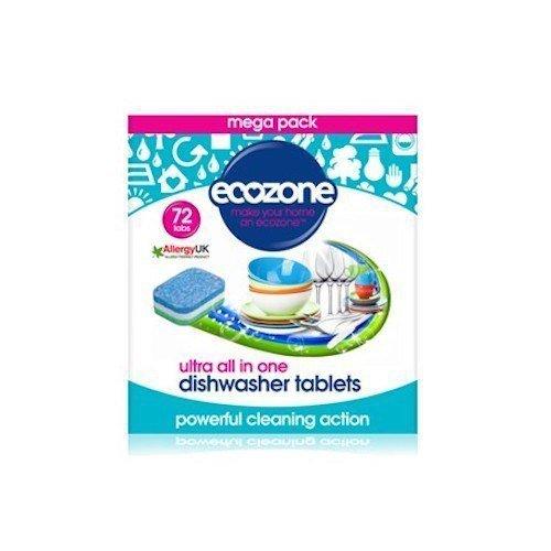 ECOZONE Tabletki do zmywarki ultra 72szt