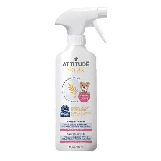 ATTITUDE Sensitive Skin Baby Naturalny odplamiacz do tkanin w sprayu 475ml
