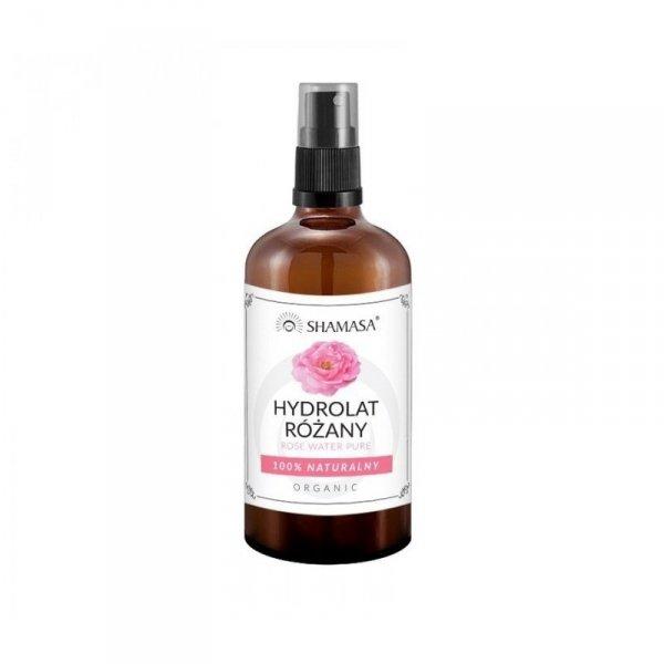 SHAMASA Woda różana Hydrolat 100% naturalny Organic 100ml