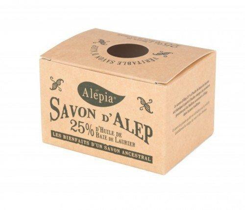 ALEPIA Mydło Aleppo 25% oleju laurowego 190g