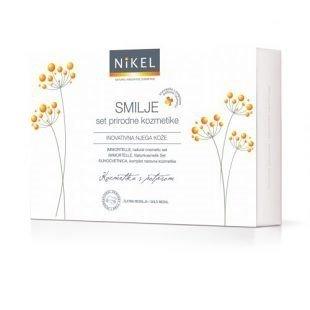 NIKEL Zestaw Prezentowy do Pielęgnacji Cery z IMMORTELLE (3 produkty)