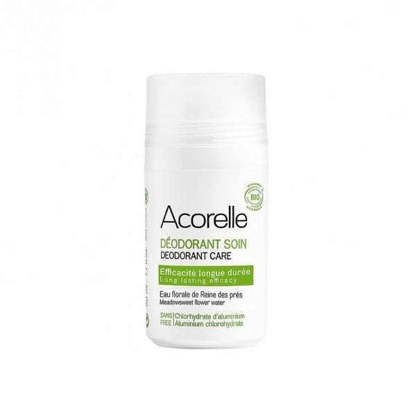 ACORELLE Organiczny dezodorant w kulce Ałun i Wiązówka Błotna ECOCERT 50ml