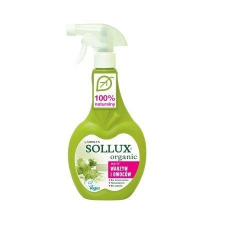SOLLUX ORGANIC Płyn do mycia warzyw i owoców 500ml
