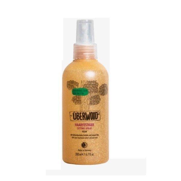 UBERWOOD Spray utrwalający do układania włosów 200ml