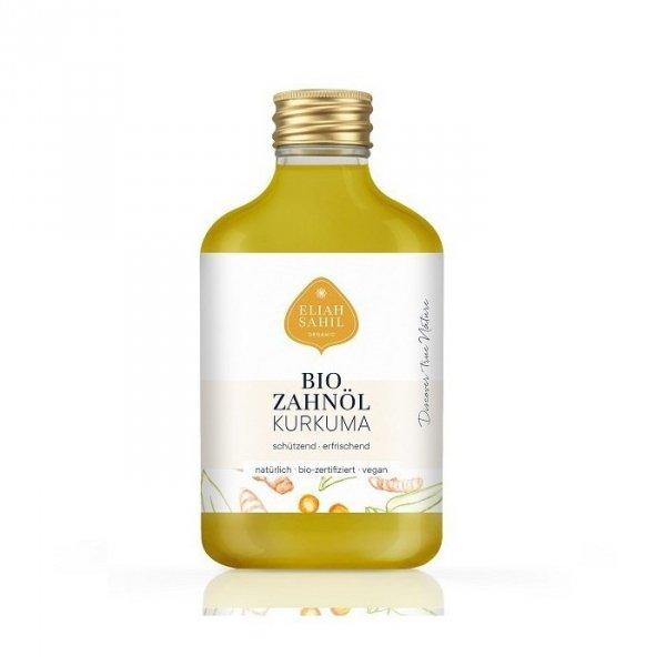 Eliah Sahil Organiczny olej do płukania jamy ustnej Kurkuma Zero Waste 100ml