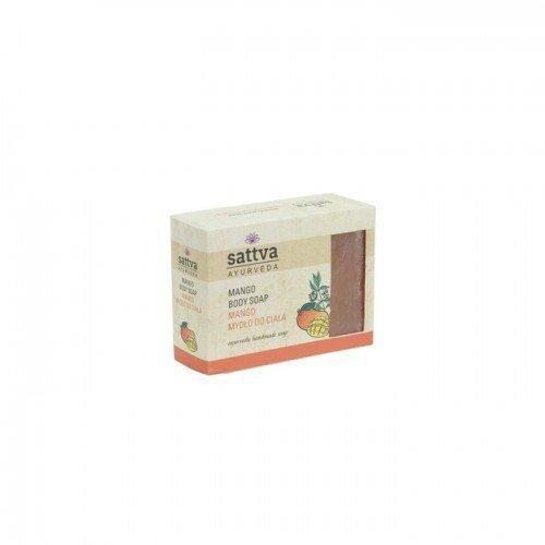 SATTVA AYURVEDA Mydło glicerynowe Mango 125g