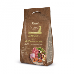 FITMIN dog Purity Rice Semimoist Rabbit&Lamb 4kg