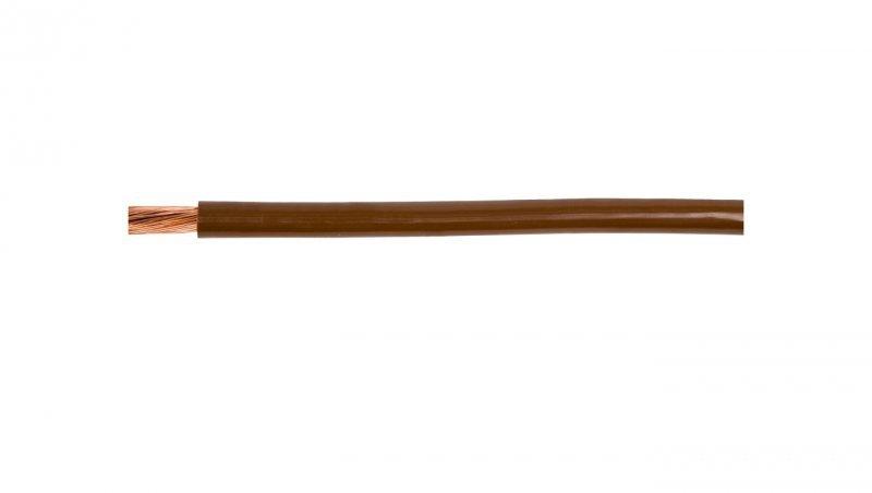 Przewód instalacyjny H07V-K (LgY) 4 brązowy /100m/