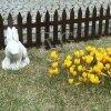 Gartenzaun Zierzaun 3,20m braun