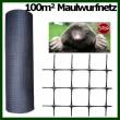 Maulwurfnetz 1m x 100m UV stabilisiert