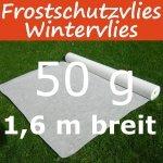 Wintervlies Frostschutzvlies 50g 1,6m 1 lfm