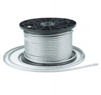 10m Stahlseil Drahtseil galvanisch verzinkt Seil Draht 5mm 6x7