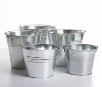 Metalleimer Eimer Wassereimer 12 L
