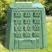 Thermokomposter 400 L dunkelgrün