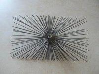 Schornsteinbesen Rechteckig Kaminbesen aus Stahl 16 x 24cm