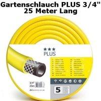 Gartenschlauch Plus 3/4 25 Meter Lang
