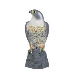 3x Taubenschreck Vogelscheuche Taubenabwehr Vogelabwehr - stehender Falke