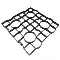 Rasengitter Reitplatzplatten Rasenwaben Gehwegplatten 50x50x2,5cm