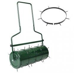 Aerator Arefizierer Rasenlüfter für Walze 5-teilig grün