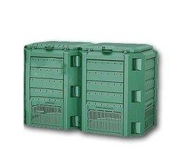 Komposter Kompostbehälter Thermokomposter 800 L grün