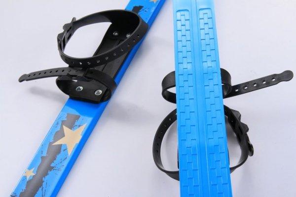 Kinderski Babyski Lernski 90cm Farbe Blau