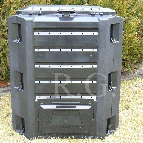 Komposter 380 Liter in Farbe schwarz