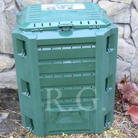 Komposter 380 Liter in Farbe grün