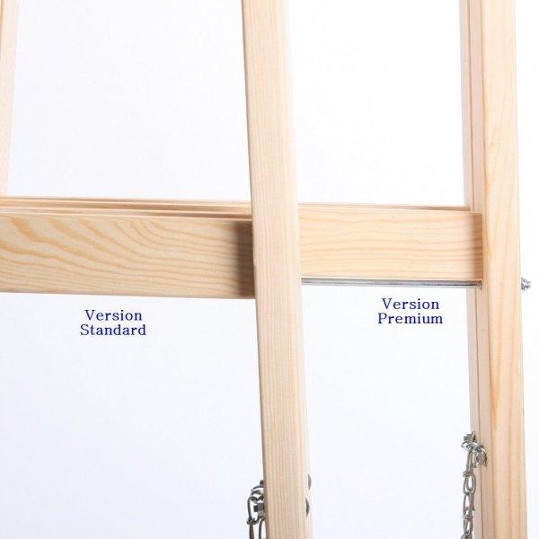 Leiter Holzleiter Klappleiter Haushaltsleiter 3 Stufen Standard