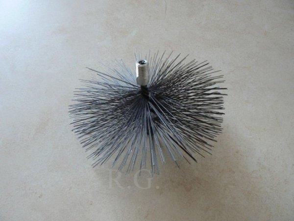 Schornsteinbesen Kaminbesen aus Stahl 17cm