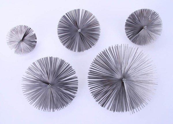 Schornsteinbesen Kaminbesen aus Federstahl 16cm