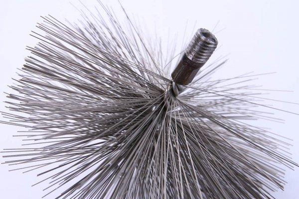 Schornsteinbesen Kaminbesen aus Stahl 18cm