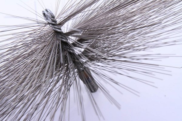 Schornsteinbesen Kaminbesen aus Stahl 16cm