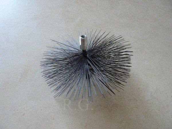 Schornsteinbesen Kaminbesen aus Stahl 22cm