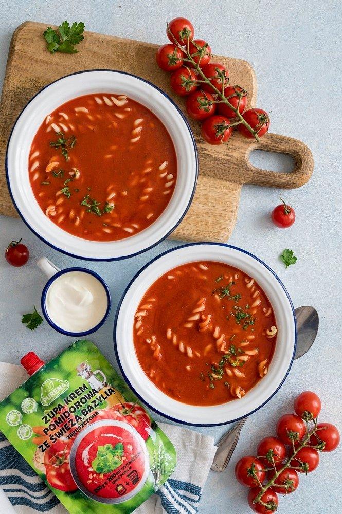 Zestaw zup zagęszczonych 4 x 350g = 8 porcji + szklanka gratis