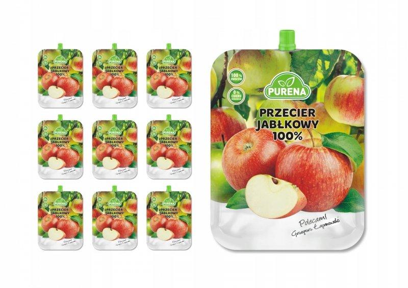 Przecier jabłkowy 100% PURENA 350g x 10 szt