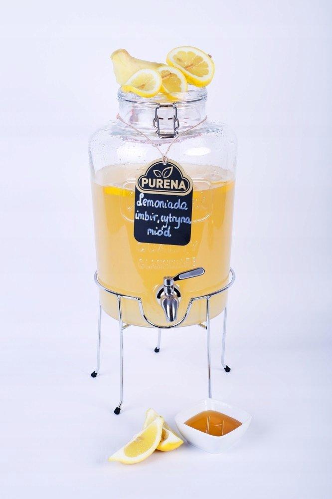 Lemoniada imbir-cytryna-miód koncentrat 18l/3kg