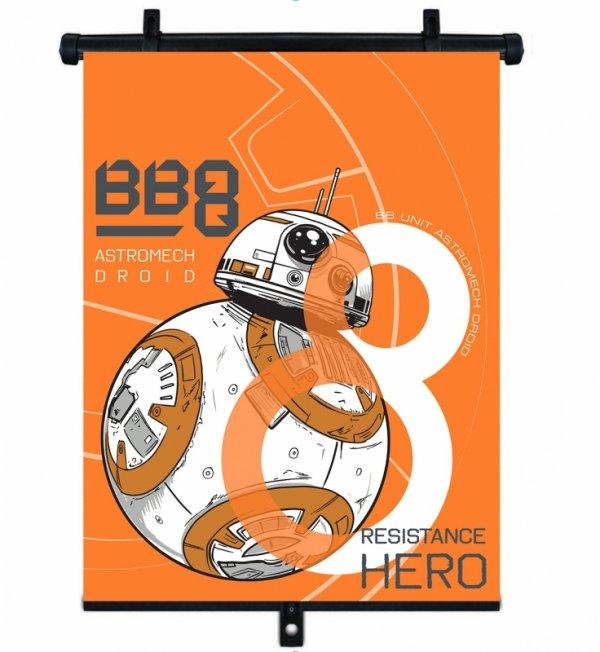 Sonnenschutzrollo STAR WARS BB8 1 Stück 36x45cm