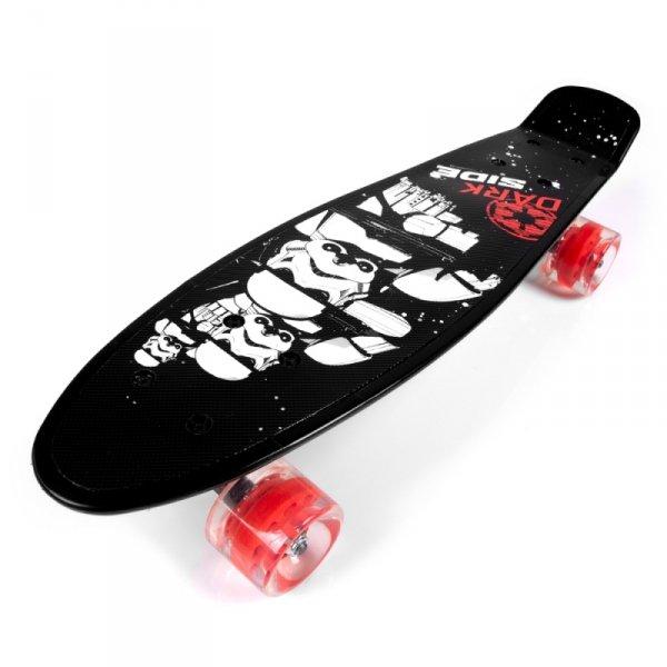 Pennybord Kinder STAR WARS STURMTRUPPEN Skateboard Mini Cruiser Fishboard ABEC-7