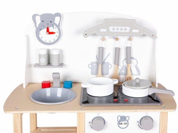 Holzküche Holzspielküche Holzkinderküche ECOTOYS Spielzeugküche Holzspielzeug