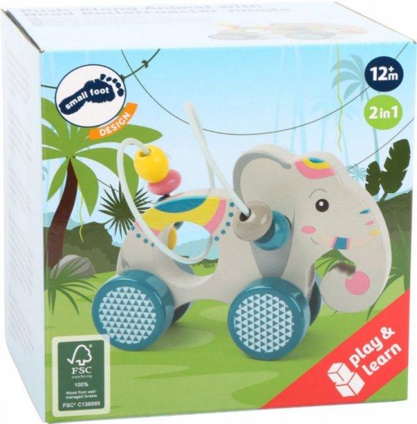 Elefant mit Motorikschleife