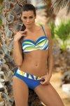Kostium kąpielowy Carlotta Ortensia Blu M-327 Niebiesko-żółty (76)